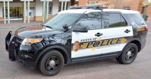 Santa Fe Police Department car. Stock Photography