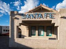Santa Fe railroad station Stock Image