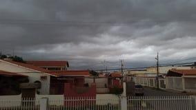 Santa Fe Rain Stockbild