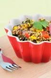 Santa Fe salad Stock Image