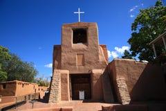 Santa Fe - San Miguel Chapel Royalty Free Stock Images