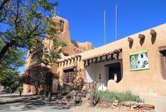 Santa Fe som är ny - Mexiko: Konstmuseum 1917 Arkivfoto