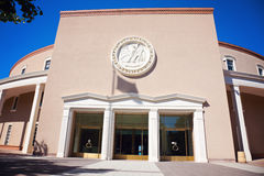 Santa Fe - State Capitol Building entrance Stock Image