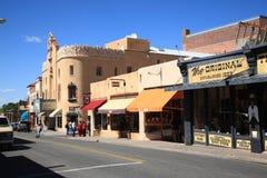 Santa Fe Stores und Shops Stockfotografie