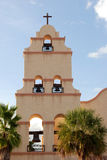Santa Fe Style Church Steeple Royalty Free Stock Photo