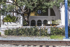Santa fe train station in san diego Stock Photos