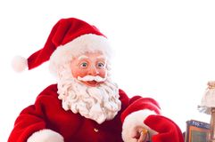 Santa felice Fotografia Stock Libera da Diritti