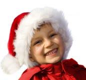 Santa feliz nova.    Imagem de Stock Royalty Free