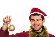 Santa feliz nova Foto de Stock Royalty Free