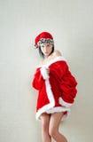 Santa femelle image stock