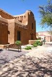 Santa- Femuseum von schönen Künsten Stockfotos