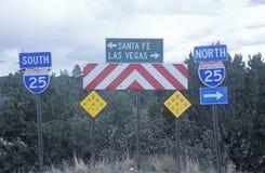 Santa- Feoder Las- Vegaszeichen Stockfotos