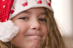 Santa fière Photographie stock