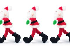 Santa Figures Stock Images