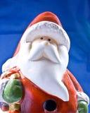 Plastic Santa  Stock Images