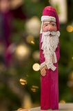 Santa Figurine Stock Photo