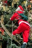 Santa figurine Stock Images