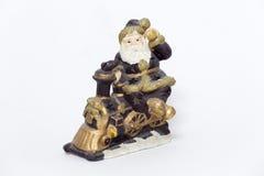Santa figurine Stock Photo