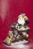 Santa figurine Royalty Free Stock Photos