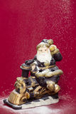Santa figurine Stock Images