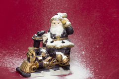 Santa figurine Royalty Free Stock Images