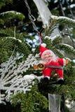 Santa figurine Stock Photos