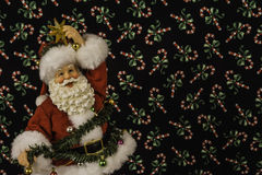 Santa Figurine Royalty Free Stock Photo