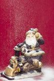 Santa figurine Stock Image
