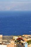Santa Filomena, cidade sobre o oceano Foto de Stock Royalty Free