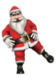 Santa Fitness Immagini Stock