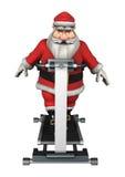 Santa Fitness Immagini Stock Libere da Diritti