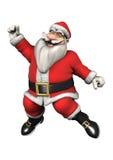 Santa Fitness Fotografie Stock Libere da Diritti