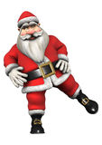 Santa Fitness Stock Images