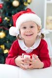 Santa flicka Royaltyfri Bild