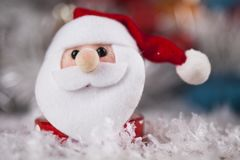 Santa, fond de Noël de vacances images libres de droits