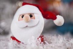 Santa, fondo di Natale di festa Immagini Stock Libere da Diritti