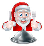 Santa Food Concept Royalty Free Stock Images