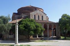 Santa Fosca cathedral Royalty Free Stock Photography