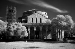 Santa Fosca church Royalty Free Stock Image
