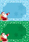 Santa Frame Royalty Free Stock Photos