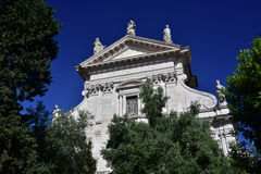 Santa Francesca Romana bazylika Zdjęcia Royalty Free