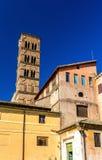 Santa Francesca Romana Church en Roman Forum Imagen de archivo libre de regalías