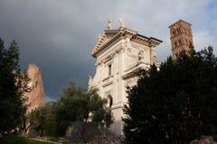 Santa Francesca Romana kościół Obrazy Royalty Free