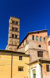 Santa Francesca Romana kościół w Romańskim forum Obraz Royalty Free