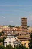Santa Francesca Romana in Rome Royalty Free Stock Image