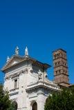 Santa Francesca Romana in Rome, Italy Stock Image