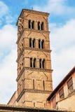 Santa Francesco Romana Dzwonkowy wierza Romański forum Rzym Włochy Obrazy Stock
