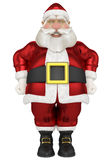 Santa frontal super happy Stock Photography