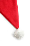 Santa furry red  hat Royalty Free Stock Photography