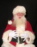 Santa gaie Images libres de droits